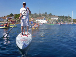 Blindleia sitio de stand up paddle / paddle surf en Noruega