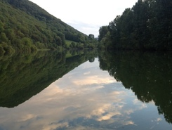 Doubs river sitio de stand up paddle / paddle surf en Francia