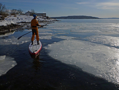Oslo fjord sitio de stand up paddle / paddle surf en Noruega