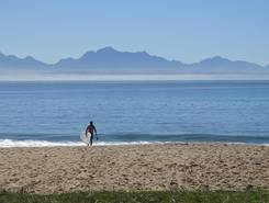 Dos Santos paddle board spot in South Africa