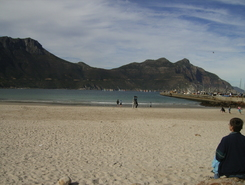 Hout Bay paddle board spot in South Africa