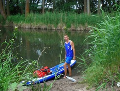 Bordersup germany/poland sitio de stand up paddle / paddle surf en Alemania