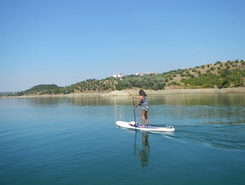 Castelo De Bode Dam sitio de stand up paddle / paddle surf en Portugal