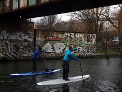 urban SUP Berlin  spot de stand up paddle en Allemagne
