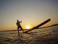 Joss bay spot de stand up paddle en Royaume-Uni