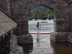 Windermere paddle board spot in United Kingdom