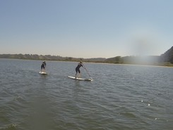 Lagoa de Obidos  paddle board spot in Portugal