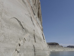 Lone Rock, Lake Powell paddle board spot in United States