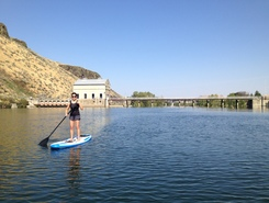 Discovery Park paddle board spot in United States