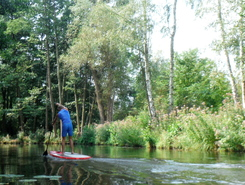 Gosener Graben sitio de stand up paddle / paddle surf en Alemania
