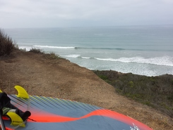 San Onofre Bluffs, Trail 4 paddle board spot in United States