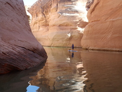 Antelope canyon sitio de stand up paddle / paddle surf en Estados Unidos