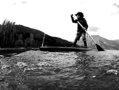 Bariloche sitio de stand up paddle / paddle surf en Argentina