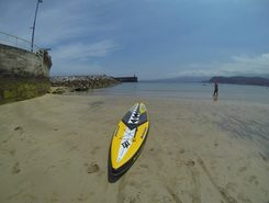 Lastres paddle board spot in Spain