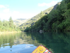 Gorge du Tarn paddle board spot in France