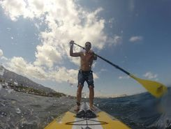 Denia paddle board spot in Spain