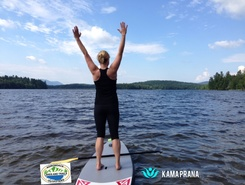 Lake Colby Boat Launch, Saranac Lake, Adirondacks spot de stand up paddle en États-Unis