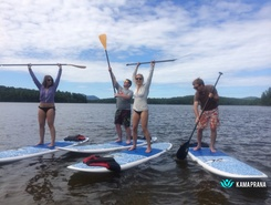 Lake Colby Boat Launch, Saranac Lake, Adirondacks sitio de stand up paddle / paddle surf en Estados Unidos