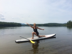 Lake Colby Boat Launch, Saranac Lake, Adirondacks paddle board spot in United States