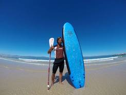 Baleal sitio de stand up paddle / paddle surf en Portugal