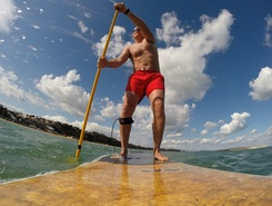 Shanklin beach spot de stand up paddle en Royaume-Uni