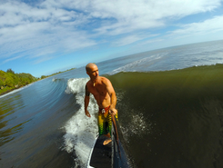 Orofara sitio de stand up paddle / paddle surf en Polinesia Francesa