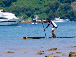Lantau paddle board spot in Hong Kong SAR China