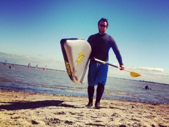 Surf City, Pelzerhaken sitio de stand up paddle / paddle surf en Alemania
