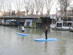 Le Parc Nautique de l'île de Monsieur sitio de stand up paddle / paddle surf en Francia