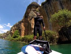 SUP - Las Hoces del Guadiela paddle board spot in Spain