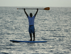 Aggelohori sitio de stand up paddle / paddle surf en Grecia