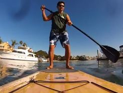 huntington harbor spot de stand up paddle en États-Unis