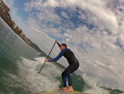 Le Valencia spot de stand up paddle en France