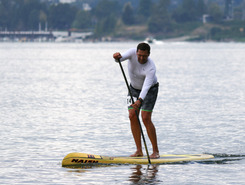 SUP Salmon Classic Race spot de stand up paddle en États-Unis