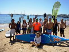 Praia de Duquesa spot de stand up paddle en Portugal