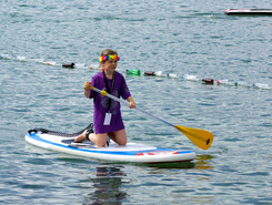 Pierrier spot de stand up paddle en Suisse