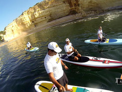 Benagil Caves sitio de stand up paddle / paddle surf en Portugal