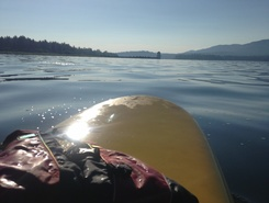 Big Bear Lake, CA sitio de stand up paddle / paddle surf en Estados Unidos
