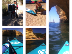 Praia do Marinha spot de stand up paddle en Portugal