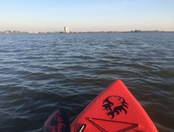 Binnenschelde paddle board spot in Netherlands