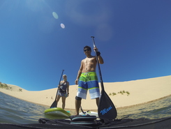 Silver Lake Sand Dunes spot de stand up paddle en États-Unis