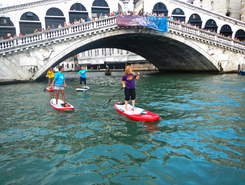 Venice spot de stand up paddle en Italie