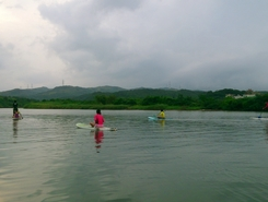 Shuang River spot de stand up paddle en Taïwan