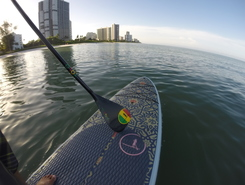 Park Shore spot de stand up paddle en États-Unis