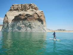 Lone Rock, Lake Powell spot de stand up paddle en États-Unis