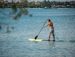 Lido Campanello paddle board spot in Italy
