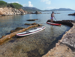 Palombaggia sitio de stand up paddle / paddle surf en Francia
