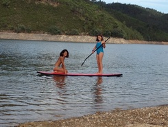 Barragem Castelo do Bode spot de stand up paddle en Portugal