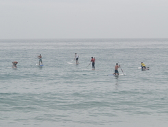 Furadouro Beach spot de stand up paddle en Portugal