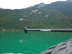 Duingt lac d Annecy  spot de stand up paddle en France